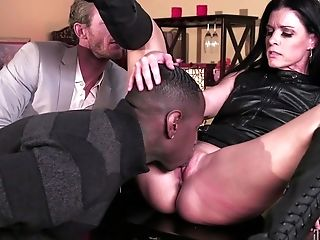 Whorish Mummy India Summer Cuckolds Her Hubby With A Black Monster Dick