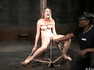 Beautiful Ashley Lane Has Never Been Tied Up And Tormented Like This!