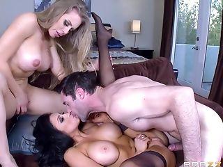 Audrey Bitoni & Nicole Aniston Hot Threesome Ffm Hump Clip