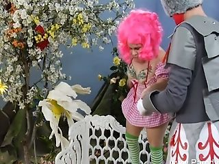 Pervy Midget Parody Wizard Orgy That Makes Them Thrill