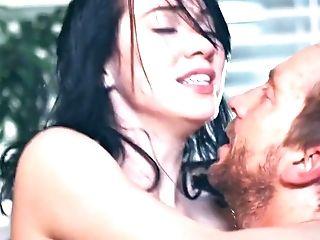 Aria Alexander Rough Pornography Vid With Unshaved Older Man
