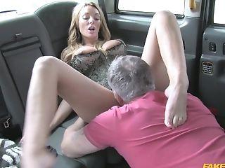 Blonde Woman Gets Her Slit Demolished In Crazy Obsession