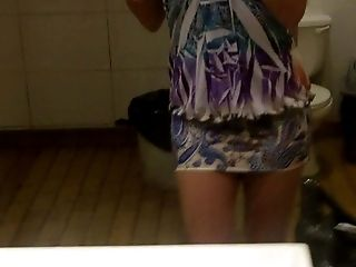 Ladies Room With My Fresh Sundress