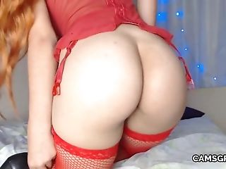 Warm Nice Donk Whore Fucks Herself With Fuck-a-thon Gear