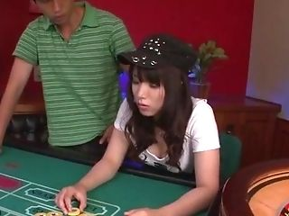 Poker Game Concludes With Group Fuck-a-thon For Hinata Tachibana