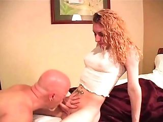 Lusty T-damsel Gets Romped With Her Boy's Massive Pecker