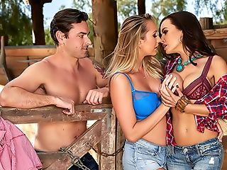 Lisa Ann's Cowgirl & Cowpoke Threesome