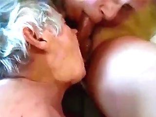 Two Grandpas Taste Jizz-shotgun And Ball