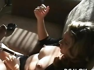 Matures Mega-bitch Smoking Scene