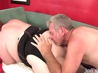 Sexy Ginger-haired Bbw Julie Ann More Takes A Gonzo Pounding