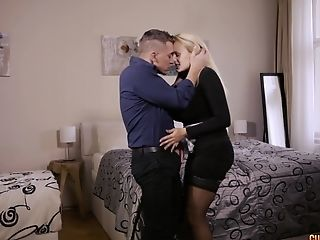 Angel Wicky Wants Spunk All Over Her Gigantic Tits After An Office Fuck