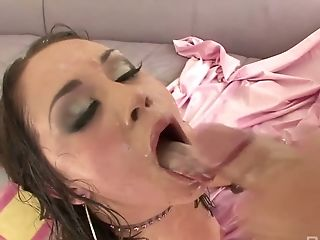 Ass-fuck-insane Hooker Kristina Rose Takes A Big Pole In Her Oiled Up Culo Slot