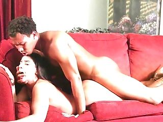 Stud Takes A Beautiful Mummy Vixen From Behind On The Couch