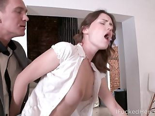 Zealous Russian Coed Damsel Sofy Ripped Actually Thirsts To Rail Strong Spunk-pump
