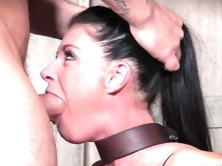 Xxx Molestation And Abasement For Strapped In Cougar India Summer