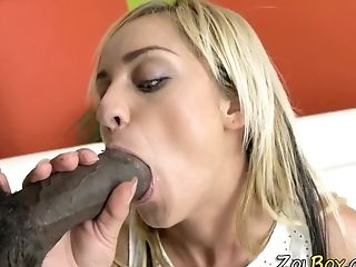 Pissing Mega-bitch Gets Blacked