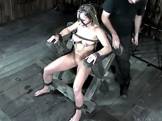 Servant Whore Dia Zerva Gets Her Cootchie And Twat Penalized In The Bondage & Discipline Room