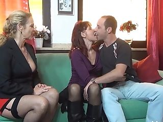 Horny Matures Knows How To Satiate All Sexual Desires Of Her Friend