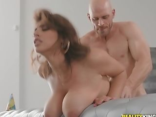 Hard-core Food Obsession Fuck And A Tit-fucking With Huge-boobed Ella Knox
