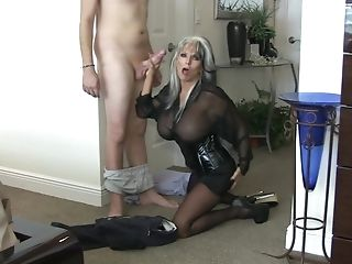 Large-boobed Matures In Leather Screwing - Sally D'angelo