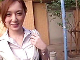 Lovely Japanese Kaede Fuyutsuki Received A Facial Cumshot Cum-shot At Work