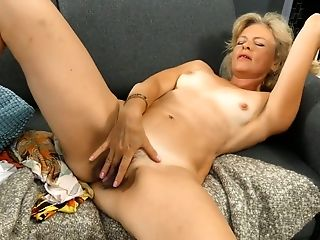Torrid Ash-blonde Head Diana Gold Is Engaged With Taunting Her Czech Hairy Labia
