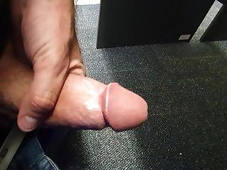 Big Circumcised Dick At Work