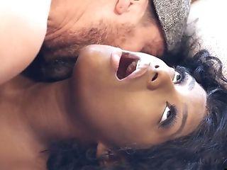 Romantic Interracial Twat Fuck With Black Princess Evi Rei