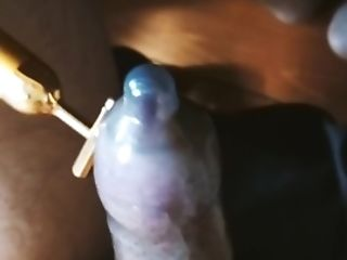 Me Vlog 003 [ Me Using A Puny Massager, Jizz In A Condom ]