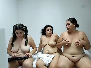 Venezuelan Chubby Ladies In Parade Naked