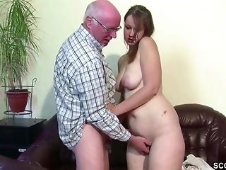 Yummy Chubby Teenager With Big Donk Loves Fucking Hard With Old Fellow