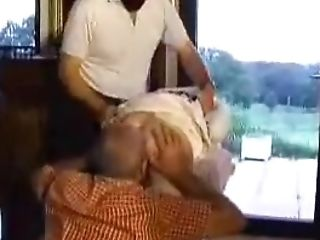 French Whore Gets Double Penetration Gang-bang Possessed