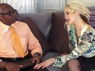 Whore Wifey Sarah Vandella Is Fucked By Big Black Cock Under Hubby's Nose