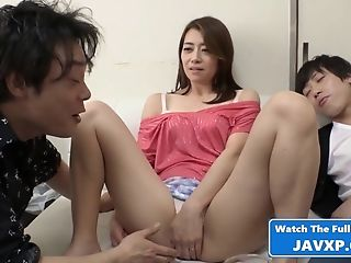 Asian Mommy Group Fucking Scene - Japanese Gang-fuck Intercourse