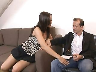 Long Legged Czech Hooker Simone Peach Gives A Pro Oral Pleasure And Gets Her Rear Entrance Slammed