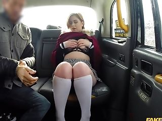 Horny Kitty Misfit Adores When The Driver Fucks Her Badly In The Cab