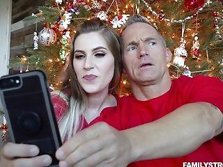 Niki Snow Vagina Fucked Hard-core On Christmas Morning