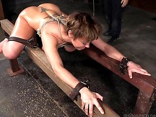 All That Dee Williams Is Worth Is A Painful Restrain Bondage Escapade