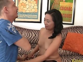 Matures Asian Tart Lucky Starr Is Pounded