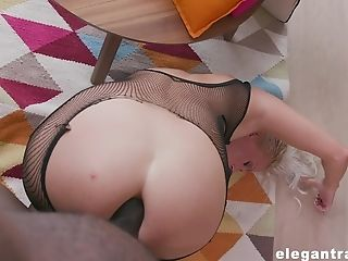 Blonde Matures Whore Kathy Anderson Fingerblasted And Fucked In Fishnets