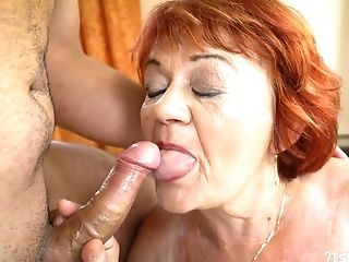Dirty Matures Sandy-haired Marsha Gives Bj And Gets Pounded Rear End Style