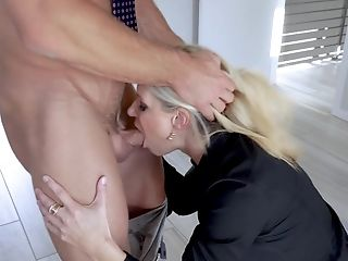 Sexy India Summer Likes Fuck-fest With Her Colleague In Her Office