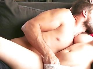 Brown-haired With Natural Tits Reminisces About Romp With Stepbrother