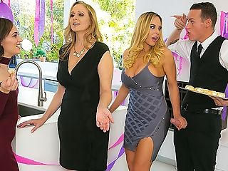 Brazzers – My Stepmom's Social Club