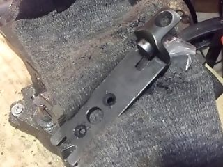 Gunnitrust- Effortless Uzi Build - Part Nine - Detachable Wood Stock To Immovable Wood S