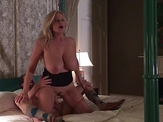 Sexy Kelly Madison Providing Big Manhood Stunning Suck Off