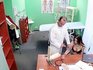 Very First Time She Fucks With Her Physician And Gets Filmed