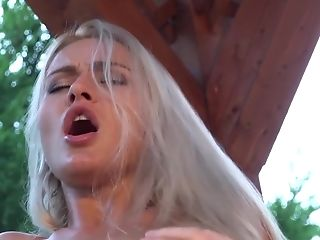 Nubile Lusty Blonde Cunt Eaten Horny Grand-pa