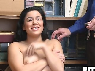 Big Juggs Darkhaired 18yo Student Done By A Corrupt Policeman