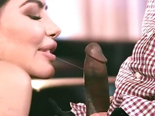 Curvy Stripper Lela Starlet Tempts A Black Man And Luvs Big Black Cock